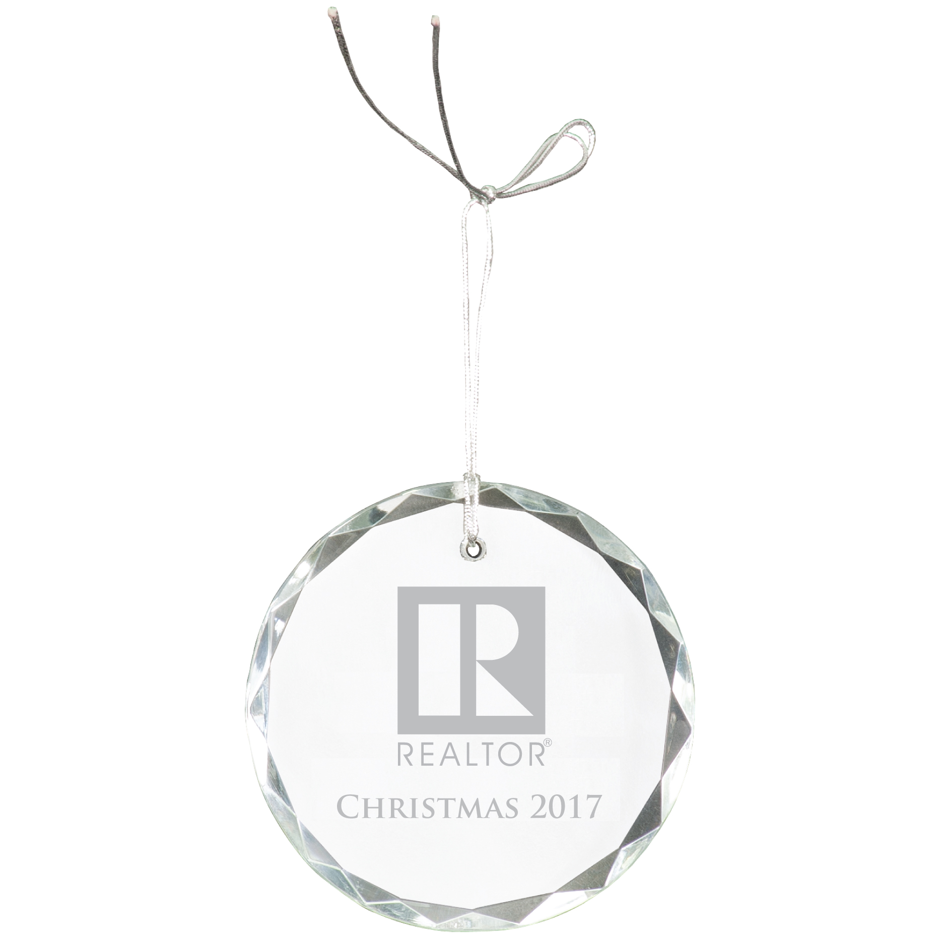 """Pick Your Logo"" Crystal Ornament - BTO1015"