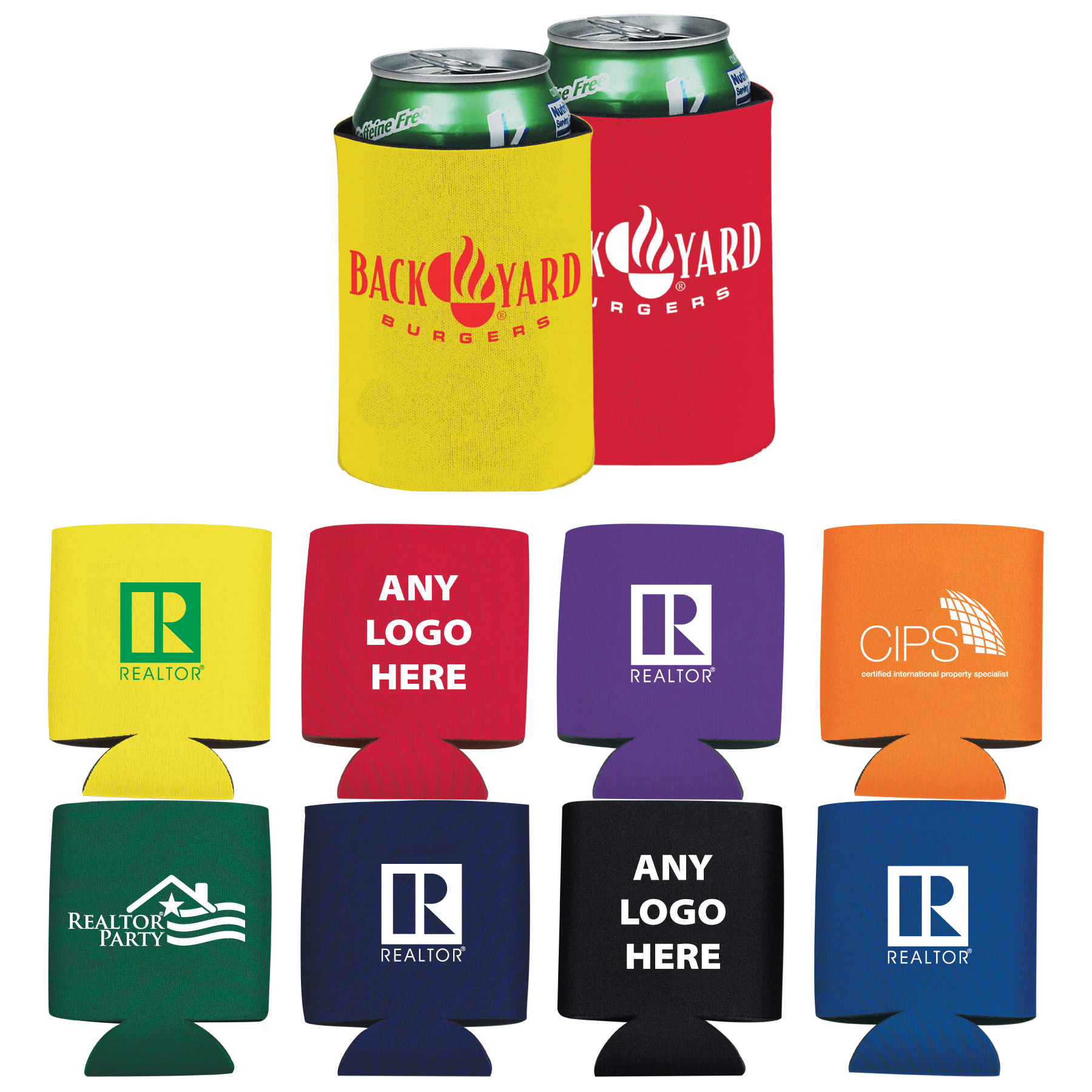Collapsible Can Insulator (Special Order) Cups,Mugs,Tumblers,Drinks,Drinkwares,glasses,glass,koozies,coozies,coosies,huggies,insulators,foam,cans,custom