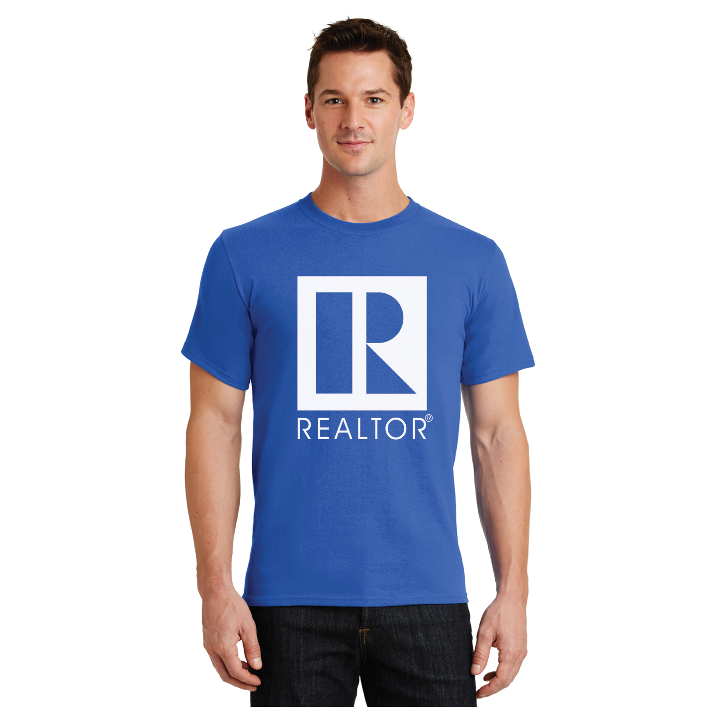 100% Heavyweight Cotton Tee Shirt - RCG1131-B