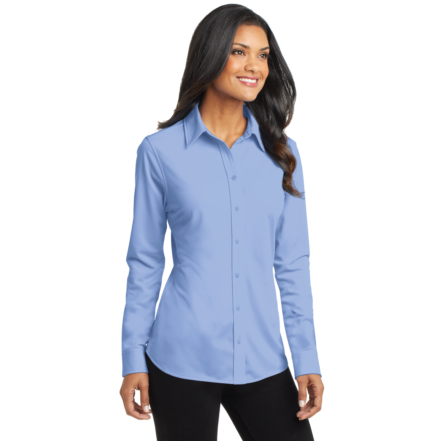Ladies Dimension Knit Dress Shirt - RCL4088