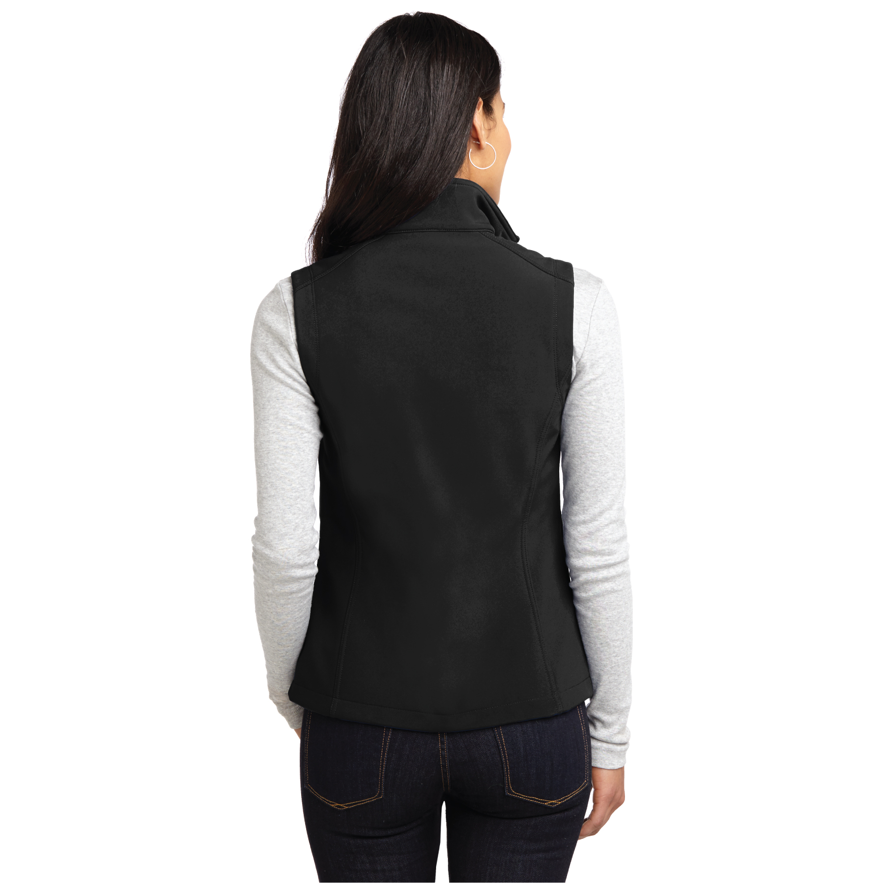 """That's Who We R"" Ladies Core Soft Shell Vest - TCL4085"