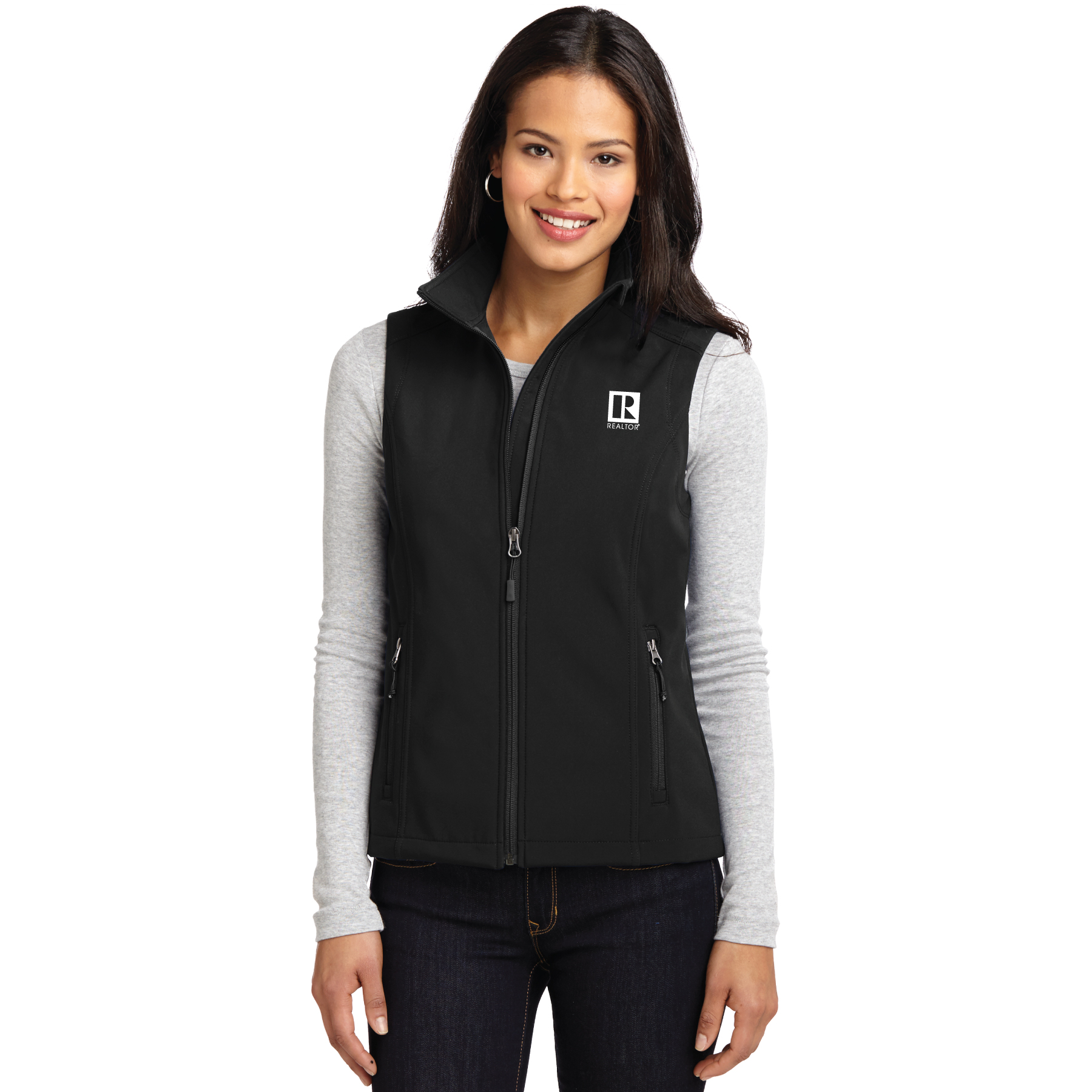 Ladies Core Soft Shell Vest ladies, soft, shells, vests
