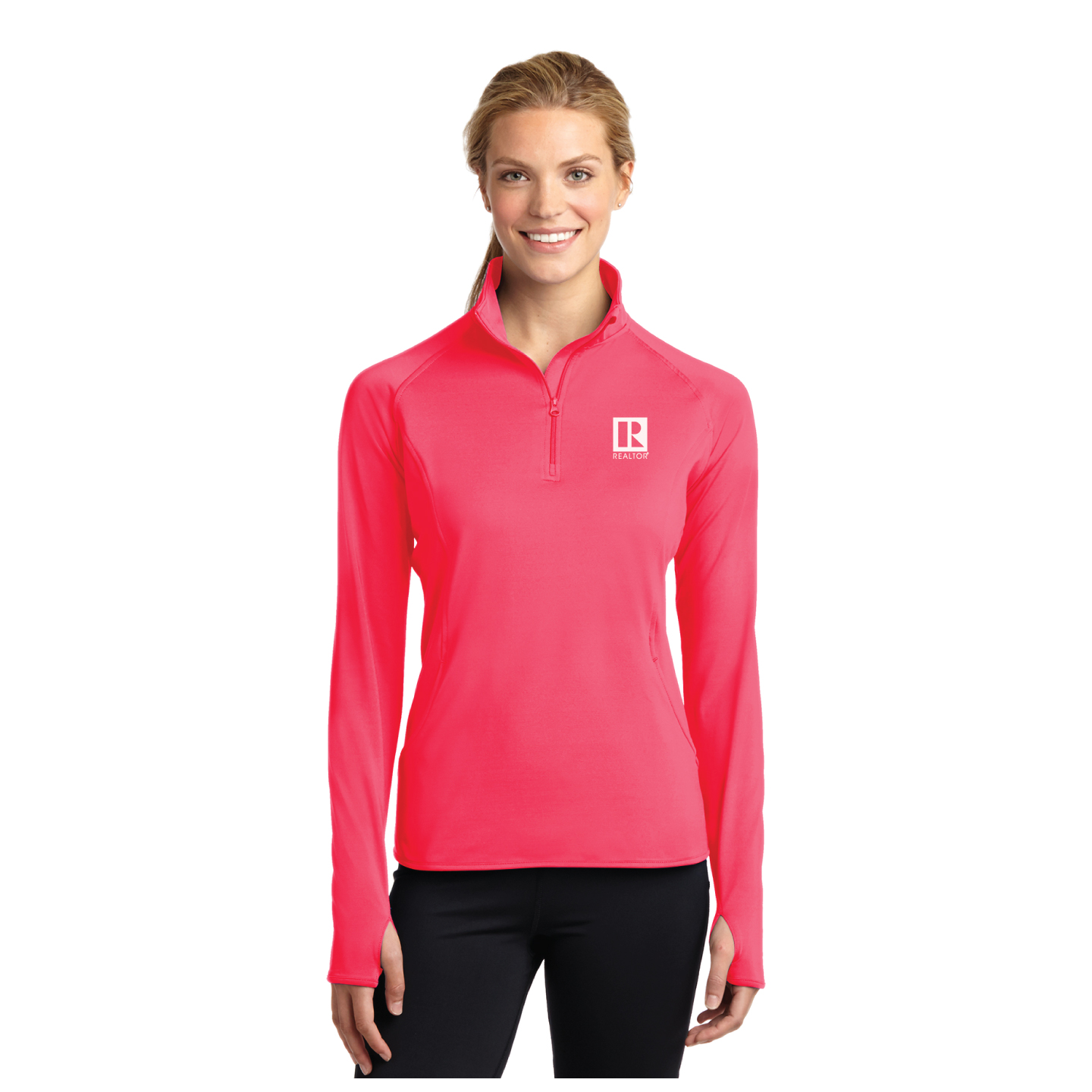 Ladies Sport Stretch 1/2 Zip Pullover - RCL2340