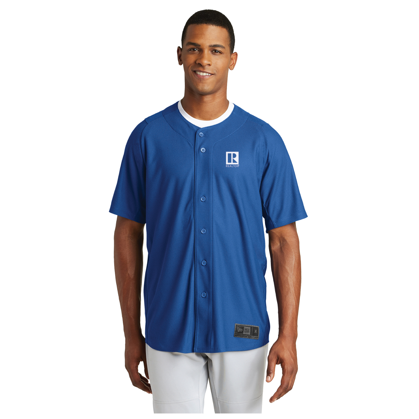 New Era Diamond Era Full-Button Jersey Button Downs,Dress,Shirts,Collars, buttons, jerseys,baseballs,button ups, Football
