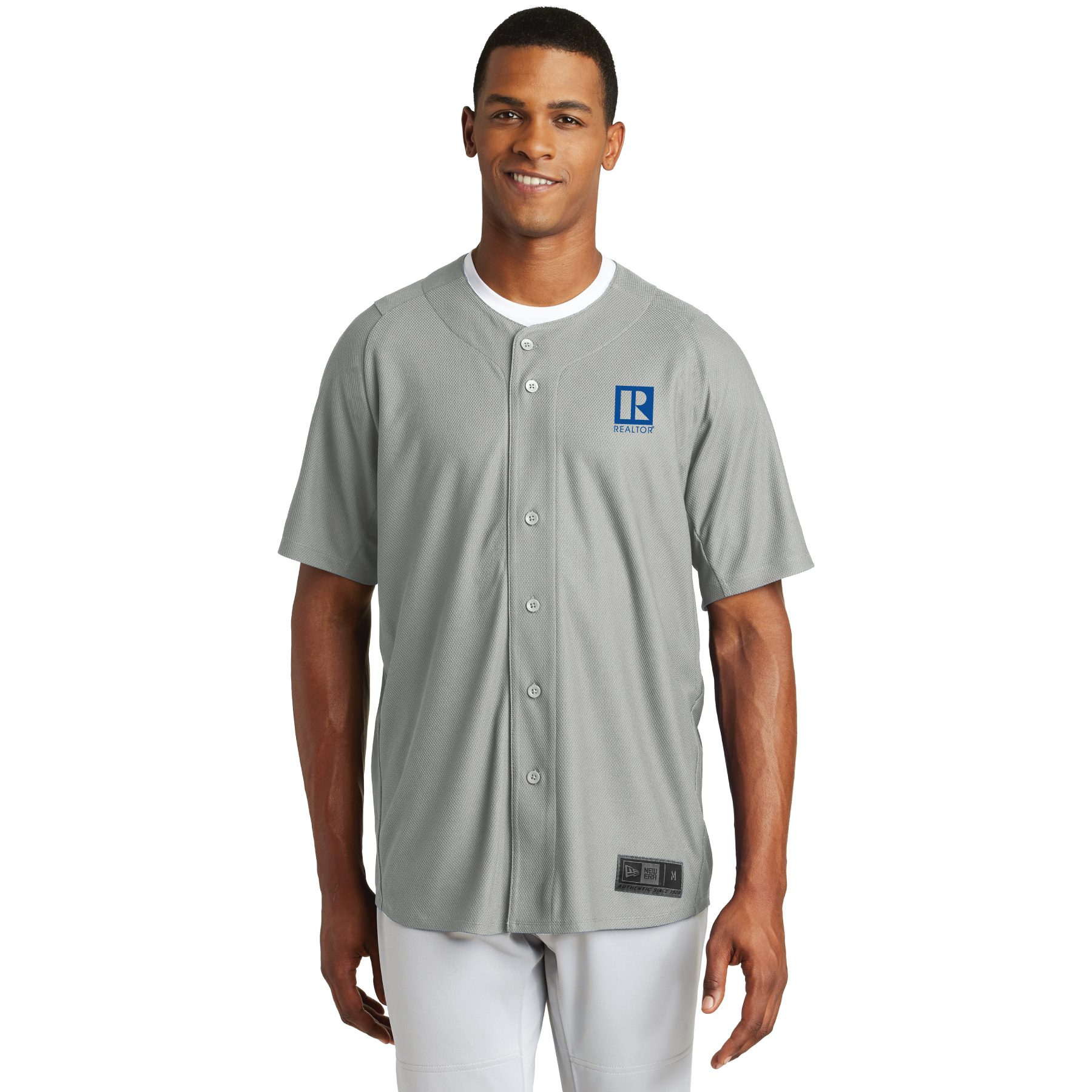 New Era Diamond Era Full-Button Jersey Button Downs,Dress,Shirts,Collars, buttons, jerseys,baseballs,button ups