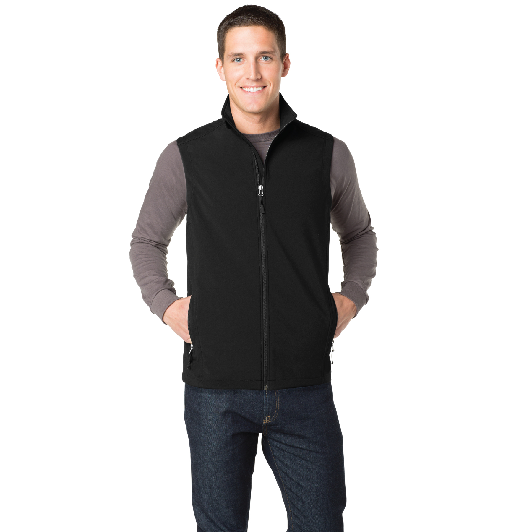 """That's Who We R"" Men's Core Soft Shell Vest - TCG4661"