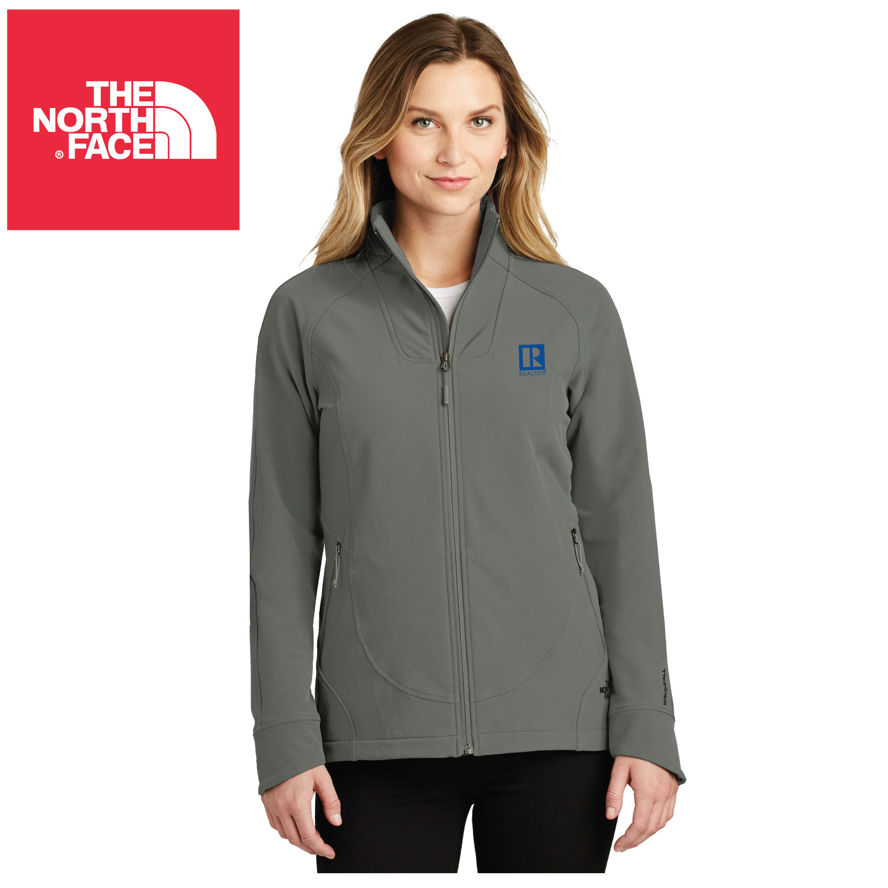 The North Face® Ladies Tech Stretch Soft Shell Jacket TheNorthFace,Norths,Jacekts,Zips