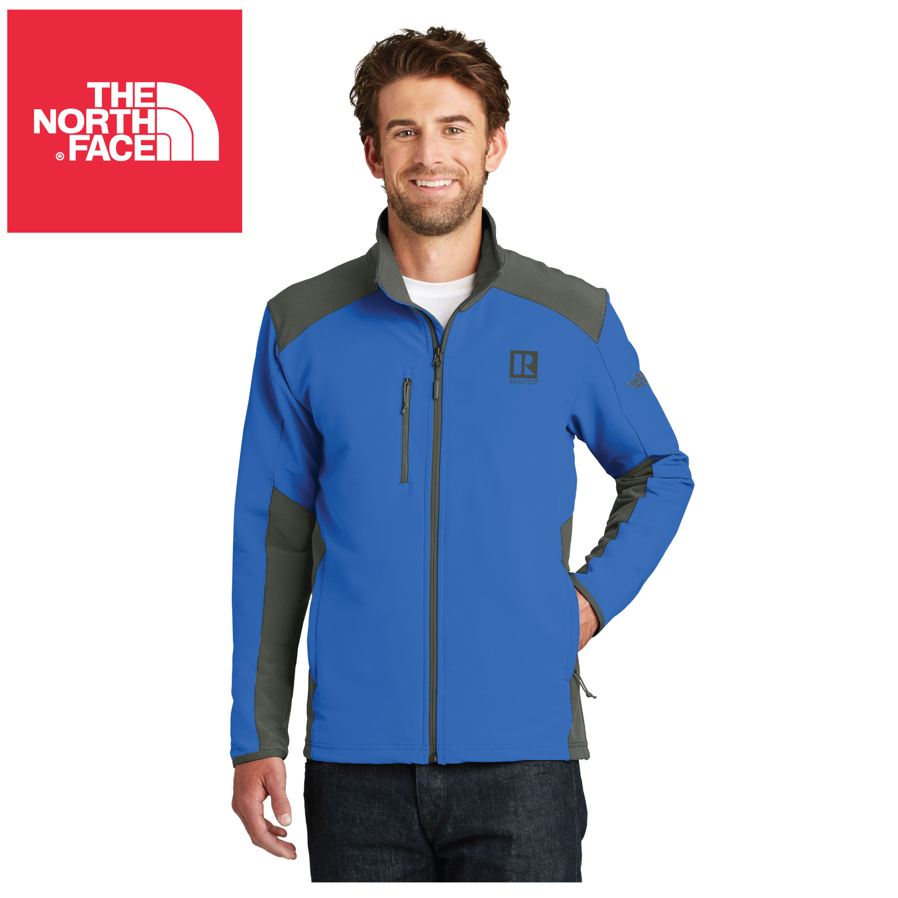 The North Face® Tech Stretch Soft Shell Jacket TheNorthFace,Norths,Jacekts,Zips