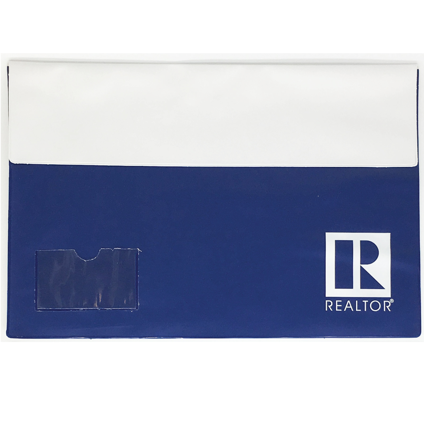 Realtor two tone legal vinyl folio with business card case rts4679 colourmoves