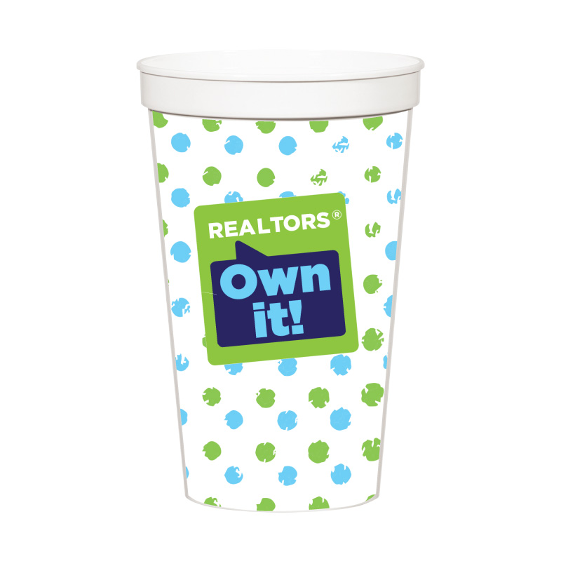REALTORS® Own It! Stadium Cups (Special Order) Cups,Mugs,Drinks,