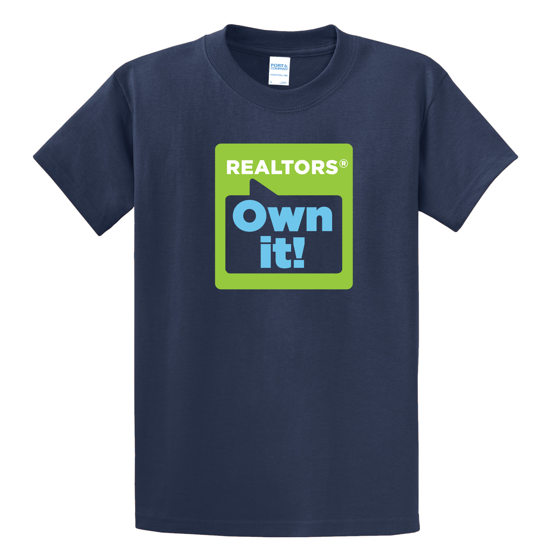 REALTORS® Own It! Tee Shirt Tees,T-shirt,Tee,Casual,Owns,its,ROI