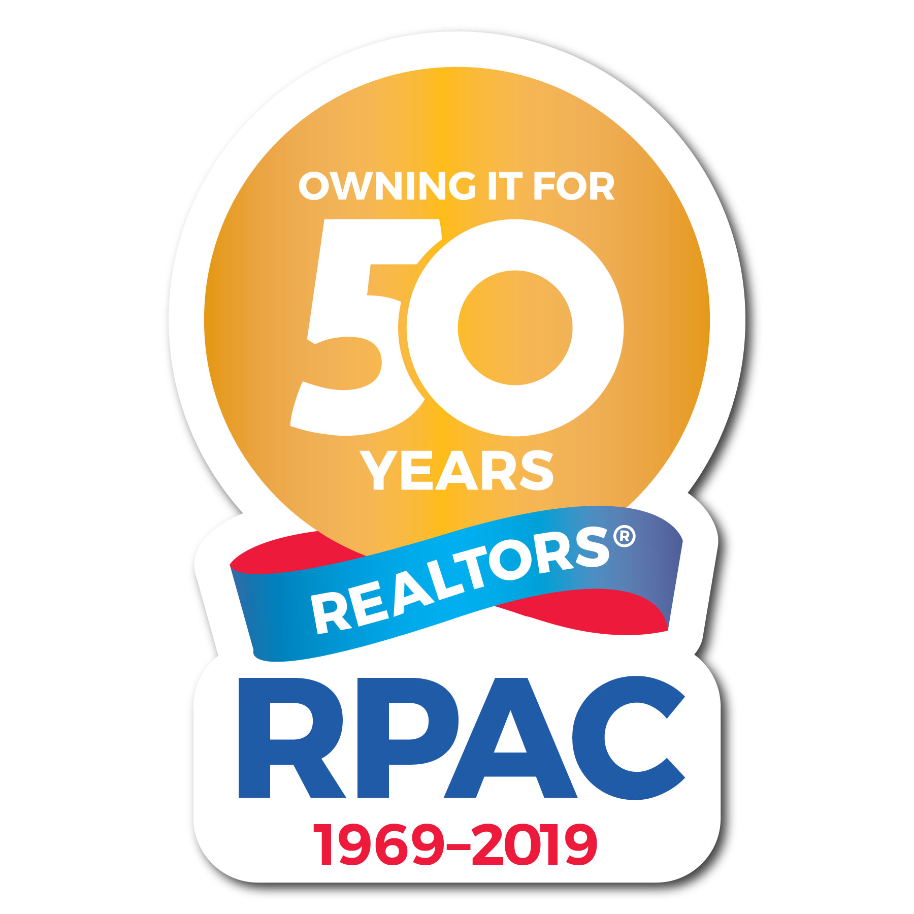 RPAC 50th Anniversary Decals Stickers,Decals,Clings,Stickies