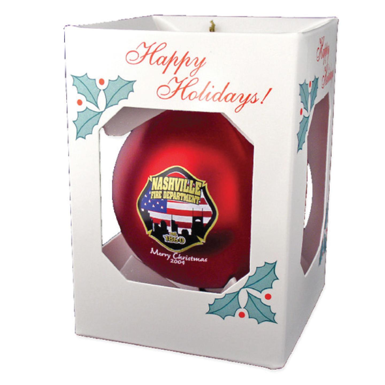Shatterproof Satin Ornament - RTS4224
