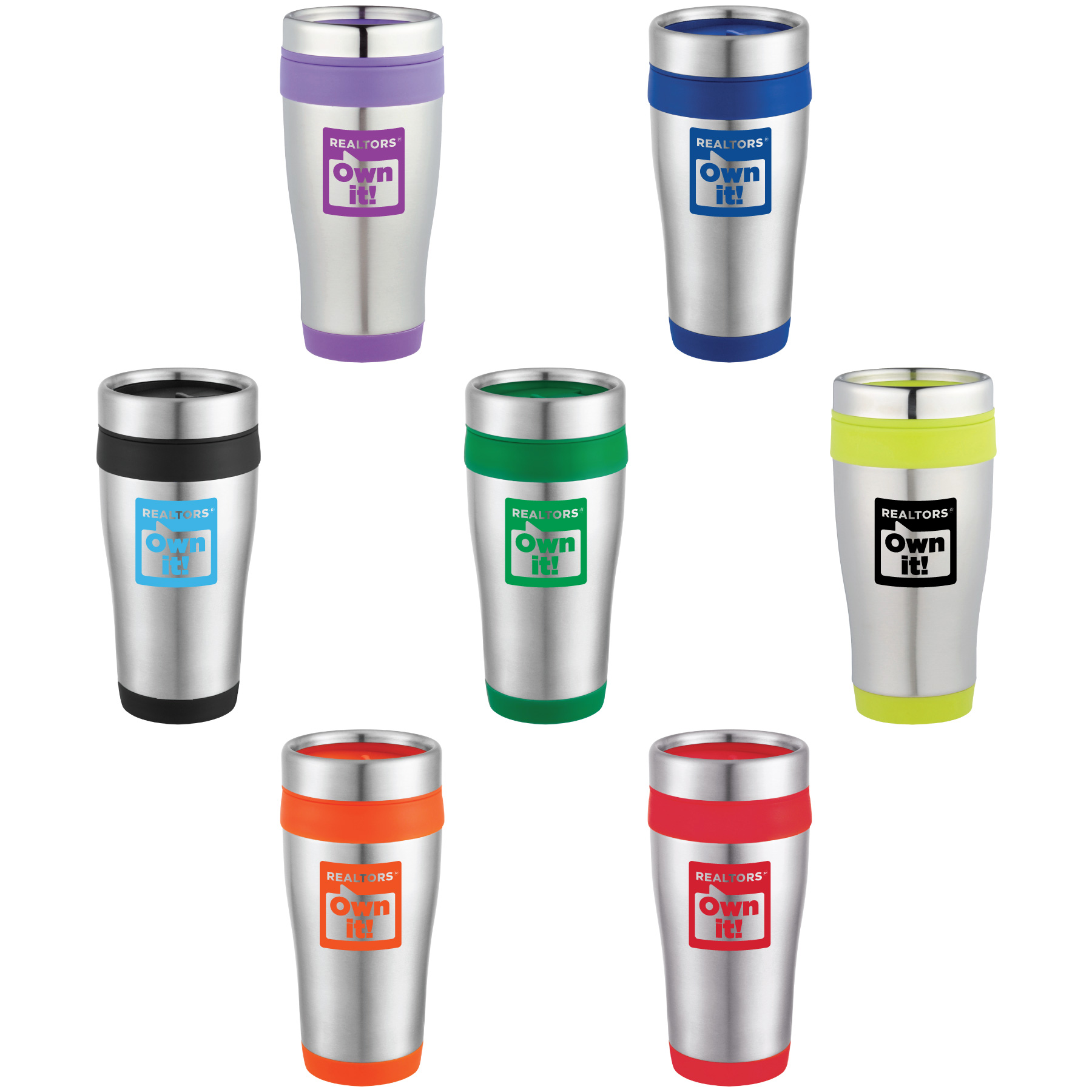 Simpson REALTORS® Own It! Travel Tumbler (Special Order) Cups,Mugs,Tumblers,Drinks,Drinkwares,glasses,glass,coffees,thermal,yetis