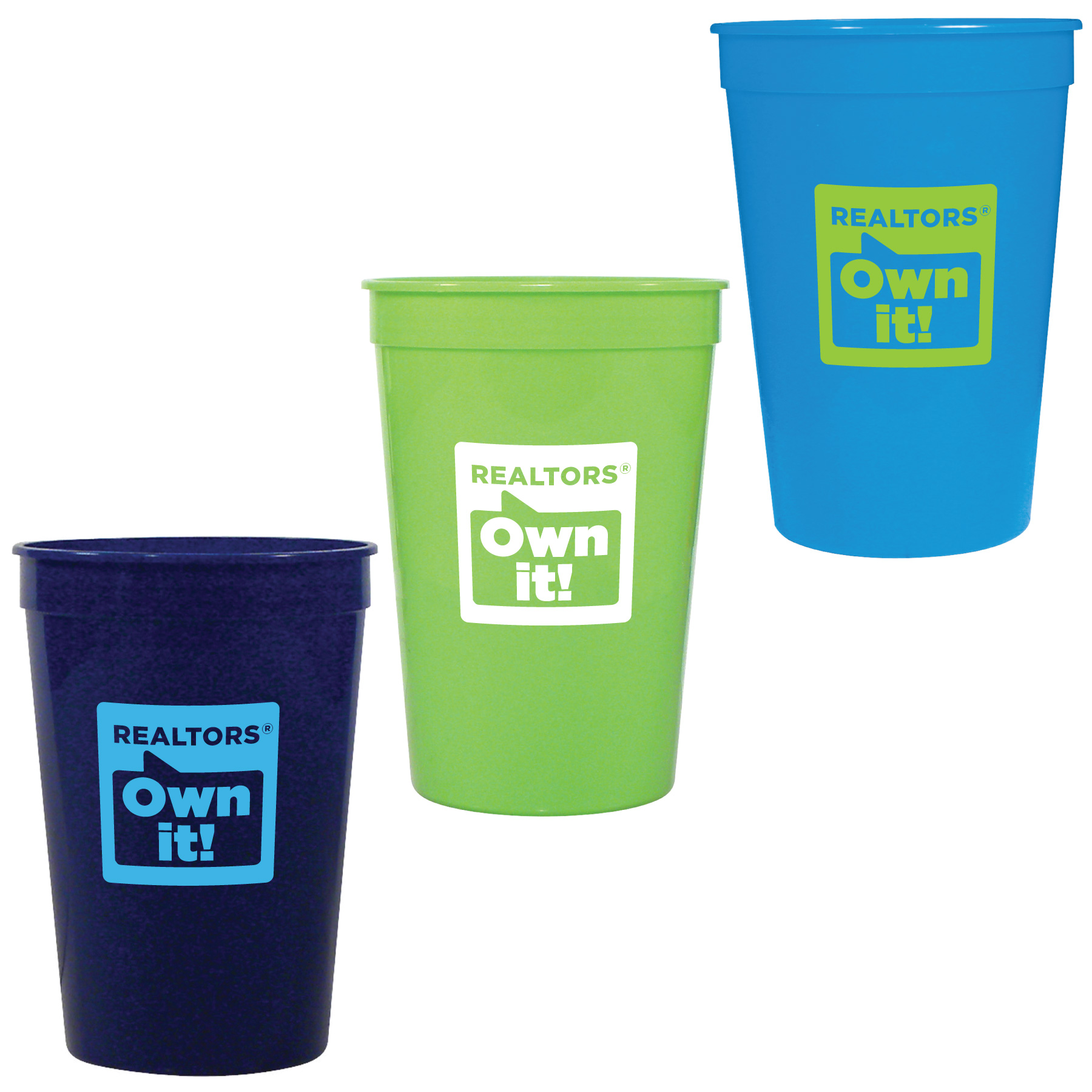 REALTORS® Own It! Stadium Cup (Special Order) Cups,Mugs,Tumblers,Drinks,Drinkwares,glasses,glass
