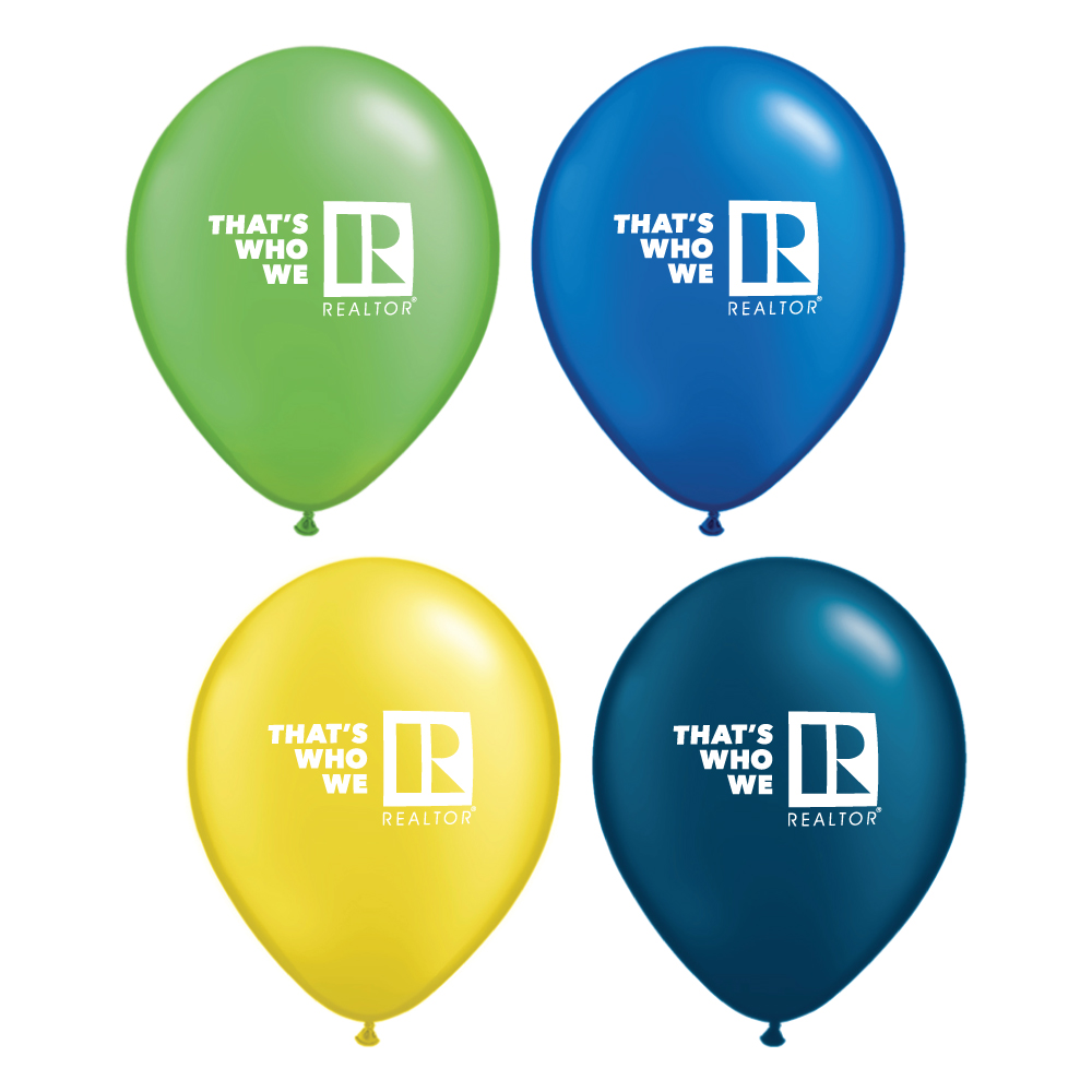 """That's Who We R"" Pearl Balloons - RTS4733"