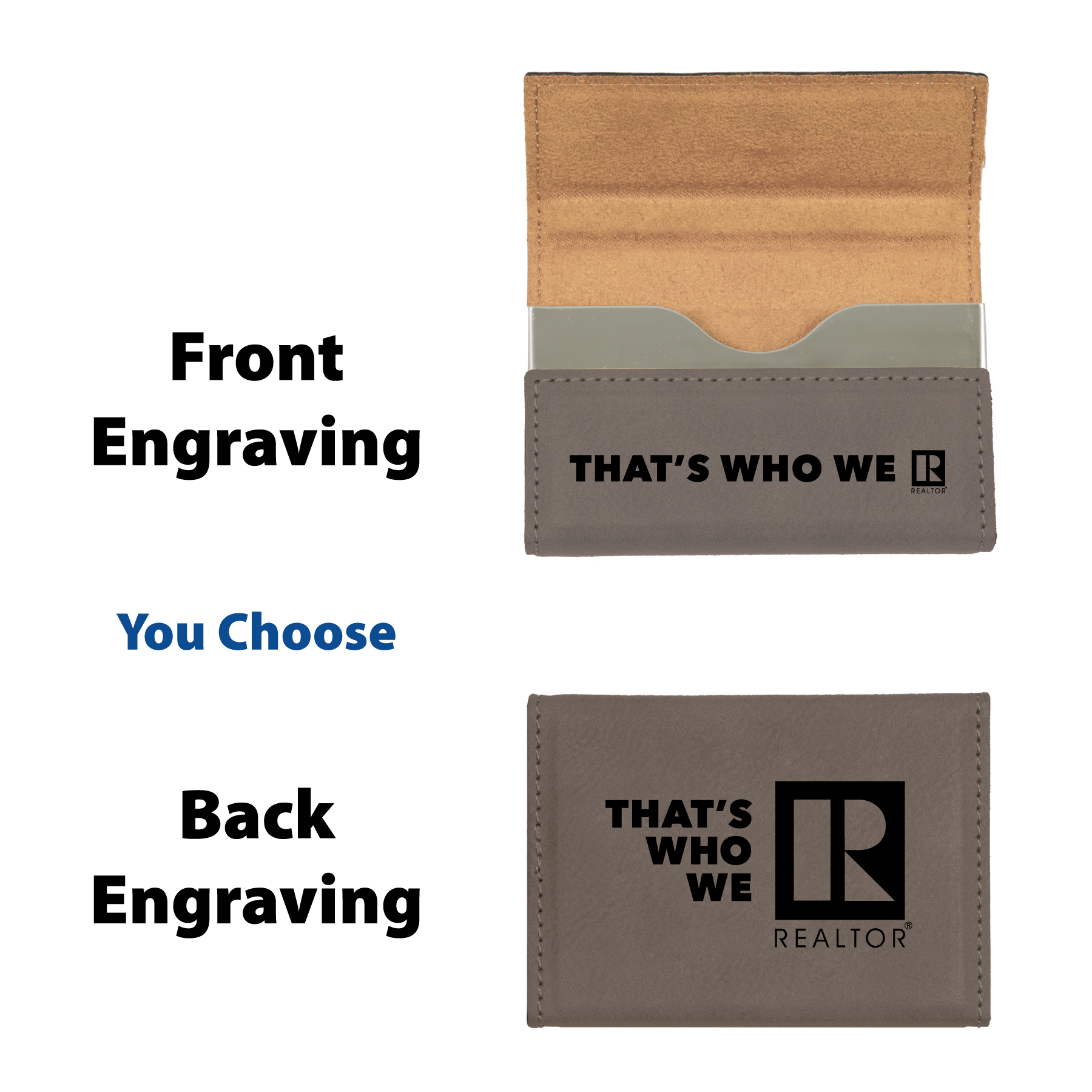 """That's Who We R"" Card Case - RTS4724"