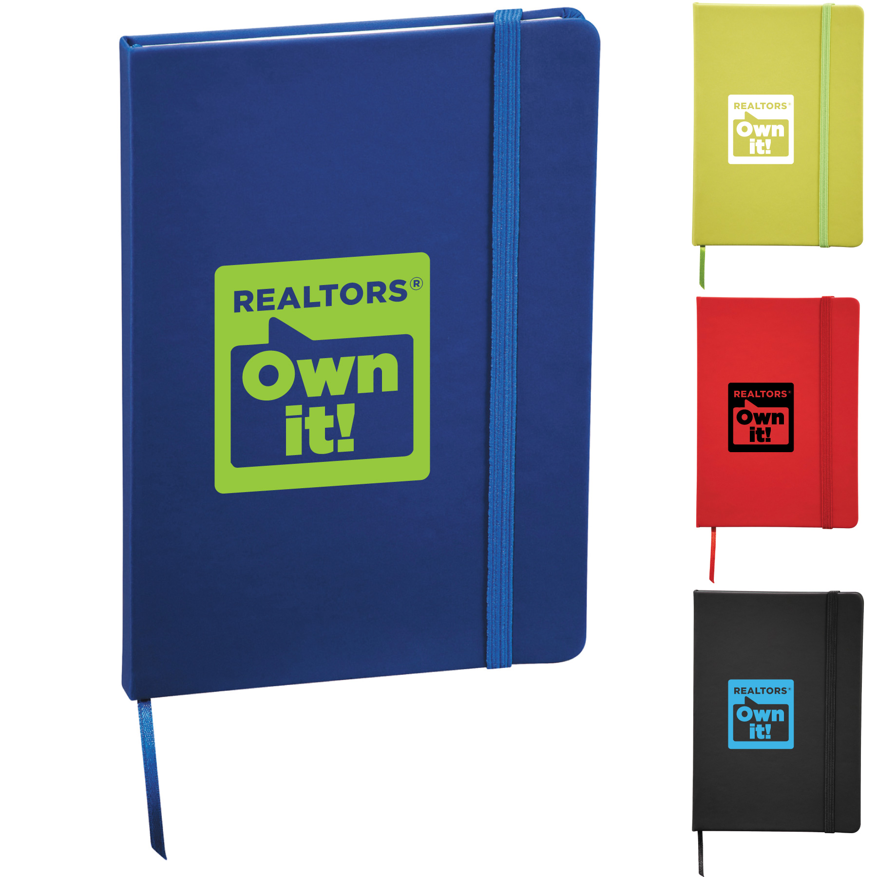 Punch REALTORS® Own it! Notebook (Special Order) Notebooks,Journals,Books,Jotters,Padfolios,Writings,Pads,Papers,stenos