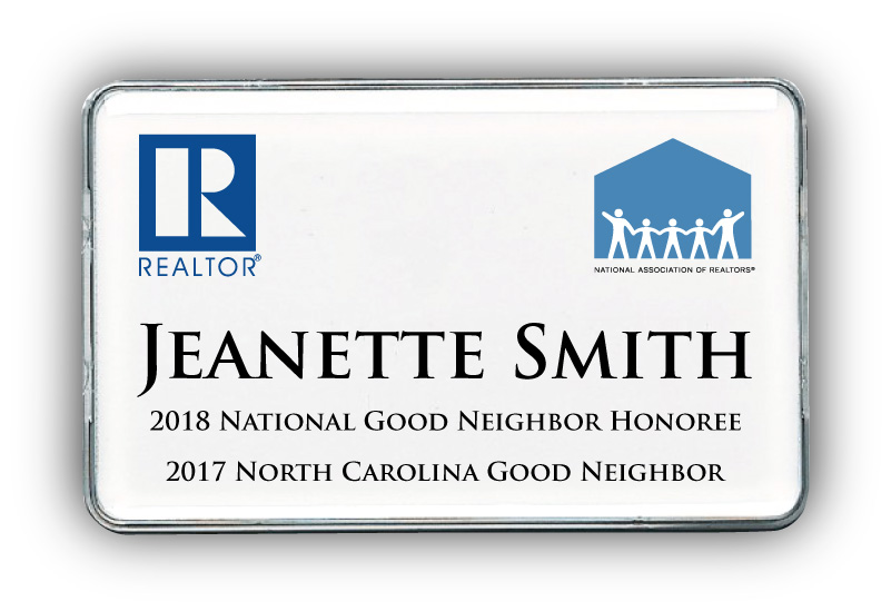 Good Neighbor Awards Name Badge