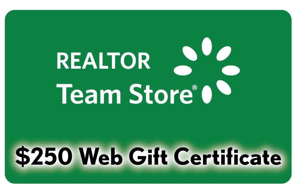 $250 Gift Certificate Certificates