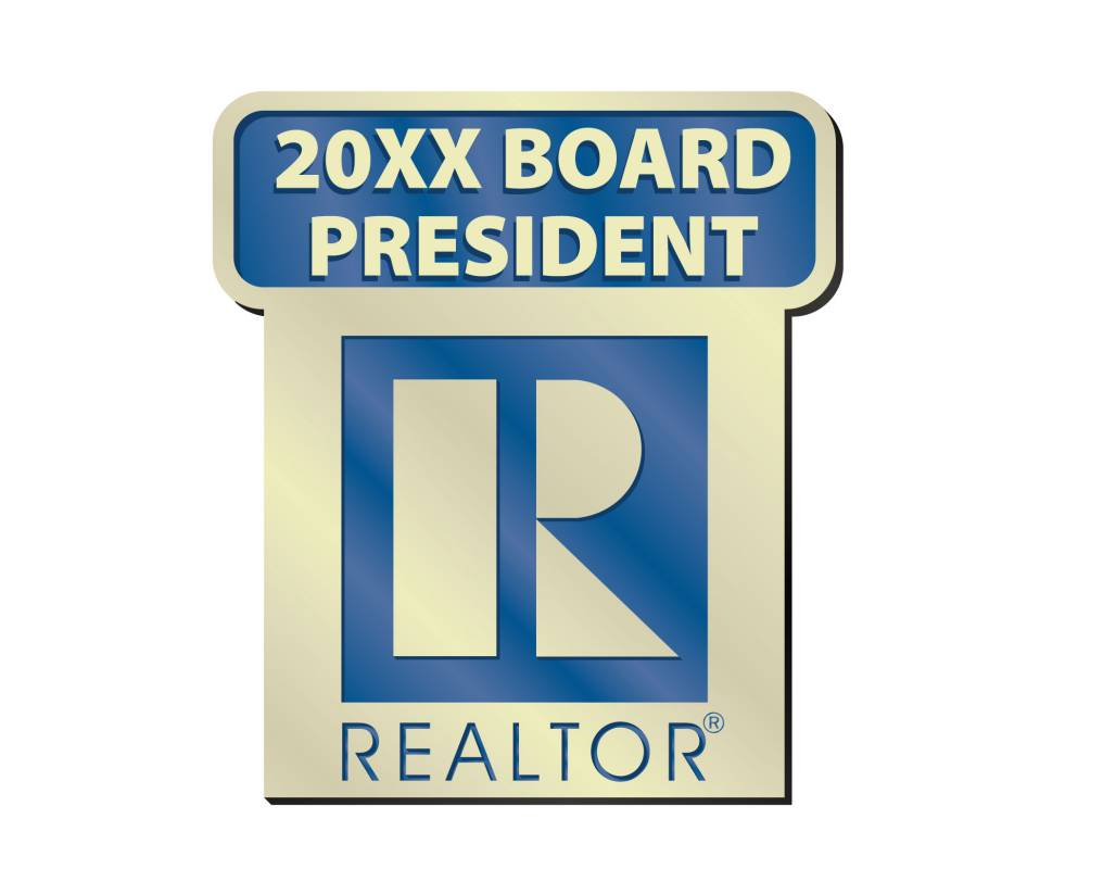 Board President Pin 2014, 2015, 2016, 2017, 2018, 2019, 2020, 2021, 2022, 2023, pins, magnetics, originals, realtors, lapels, board presidents, boards, presidents, commercial, residential, years, stick pins, sticks