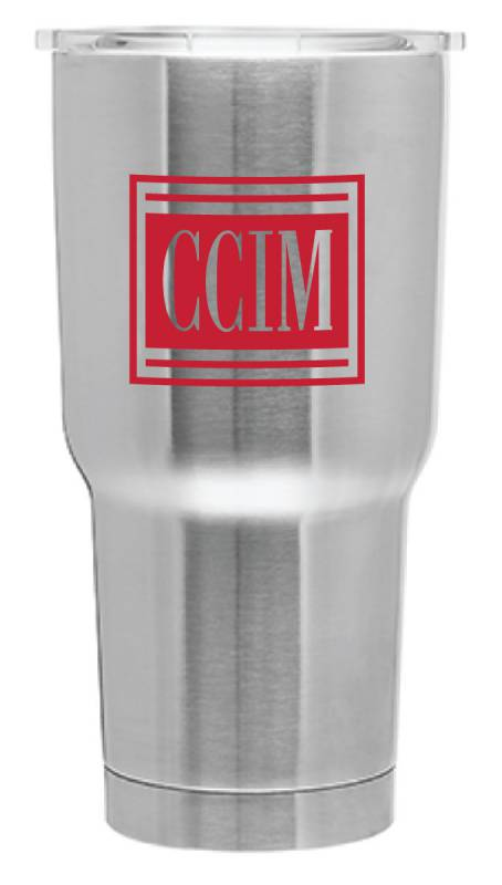 CCIM Glacier Tumbler Mugs, Cups, Drinks, Coppers, Vacuum, Insulated