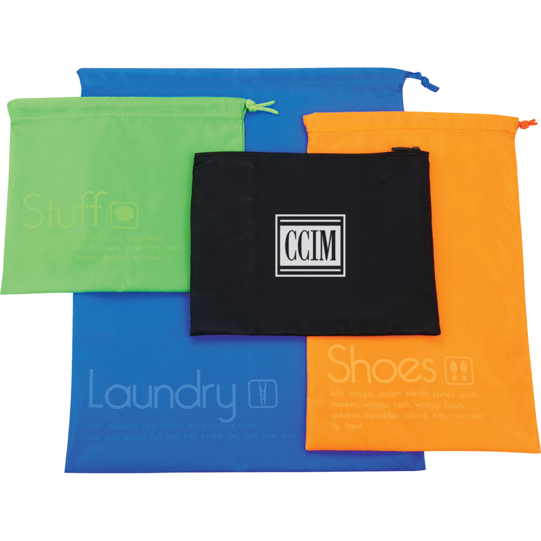 CCIM CleanBags Travel Set Travels,Bags,Packings,Sets,Laundrys,Dirtys