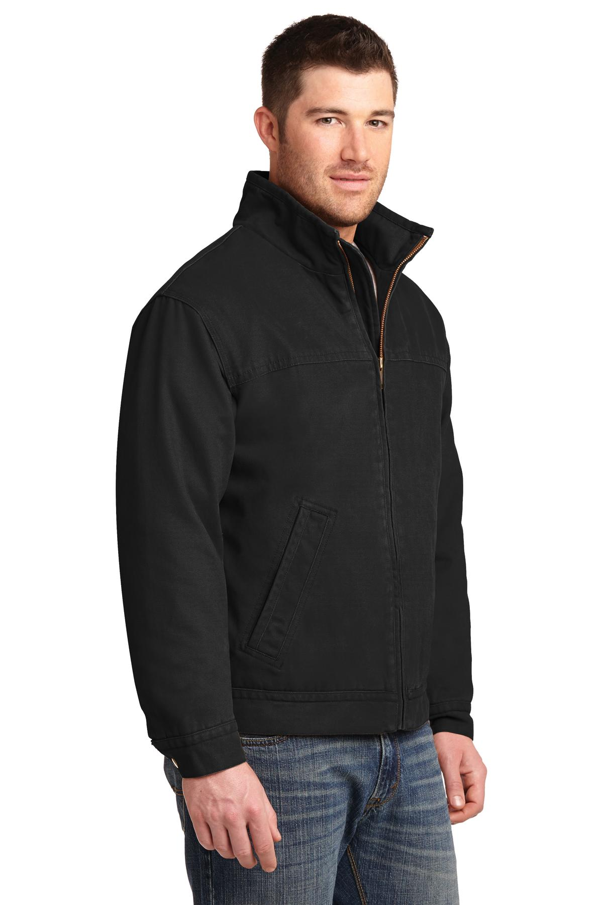 Cornerstone Washed Duck Cloth Flannel-Lined Work Jacket - RCG1430