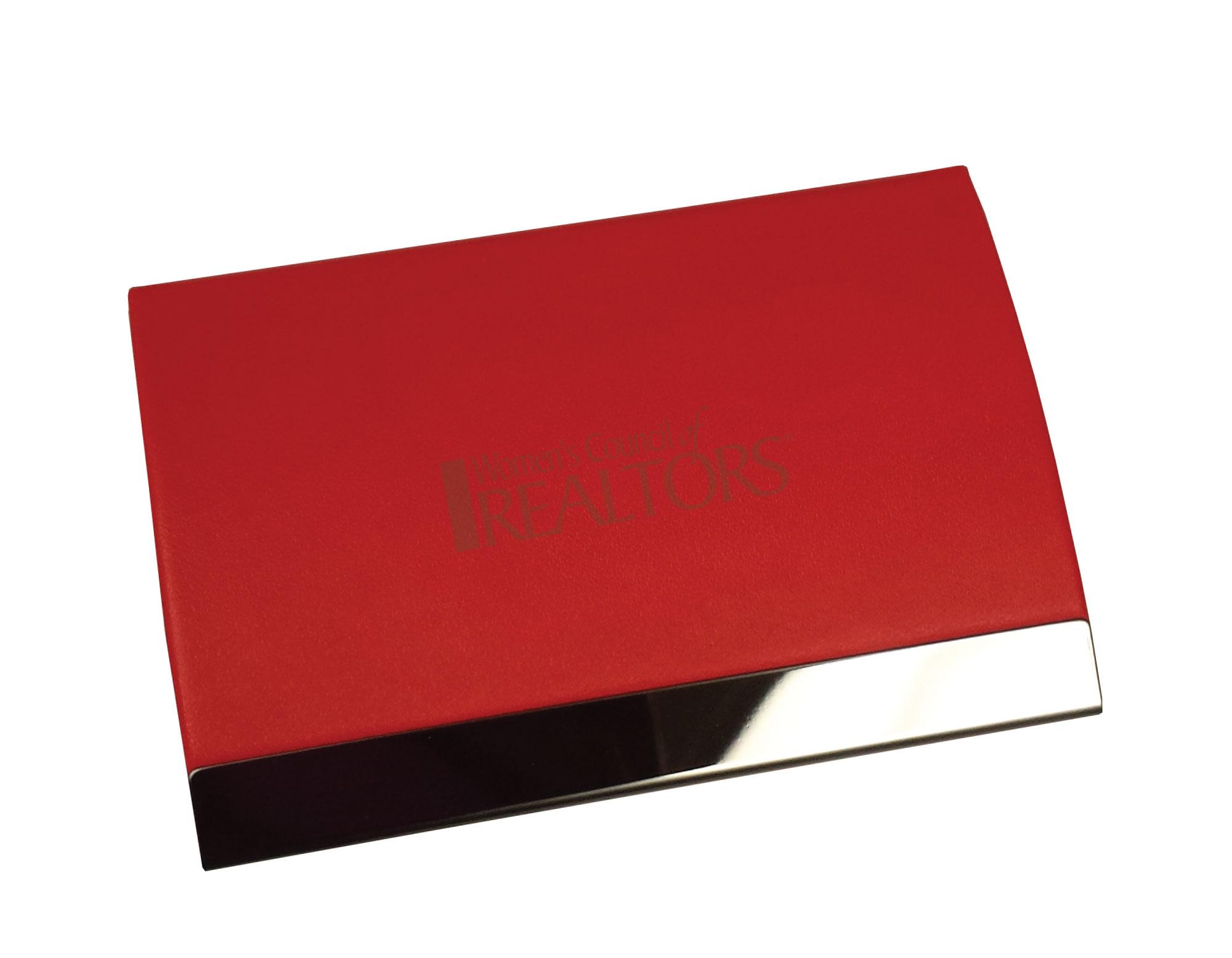 Curve Business Card Case - WCR4283