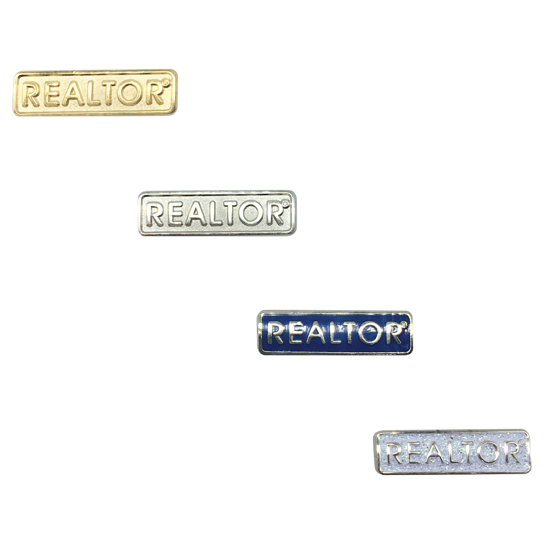 Elegant REALTOR Pin Pins,Glitters,Magnets,Memberships