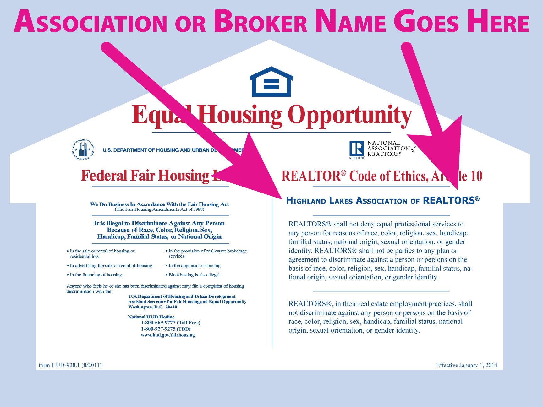 Equal Housing Opportunity Posters