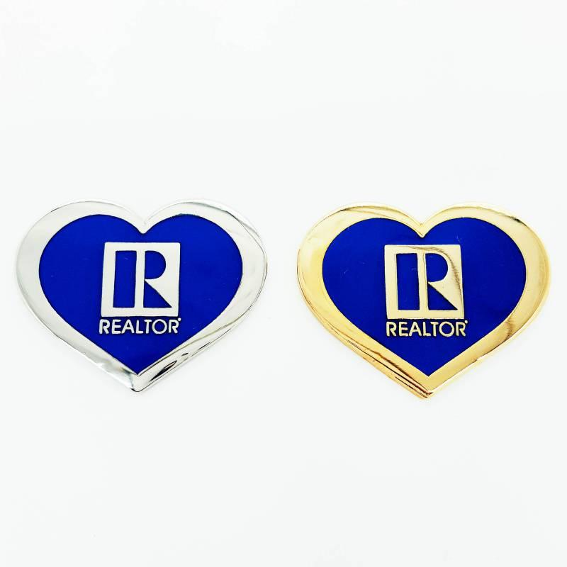 Heart Shaped Pin - RTS4425