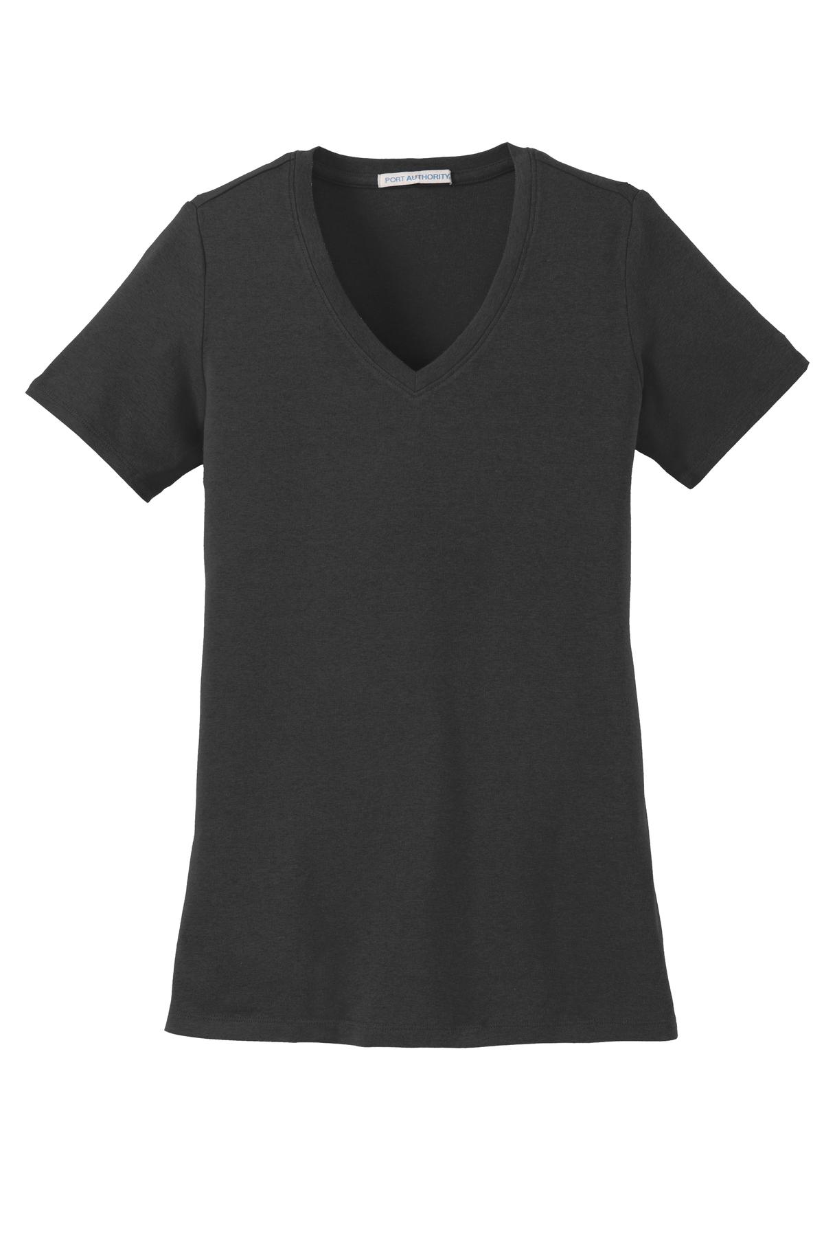 Ladies Concept Stretch V-Neck Tee - RCL4068