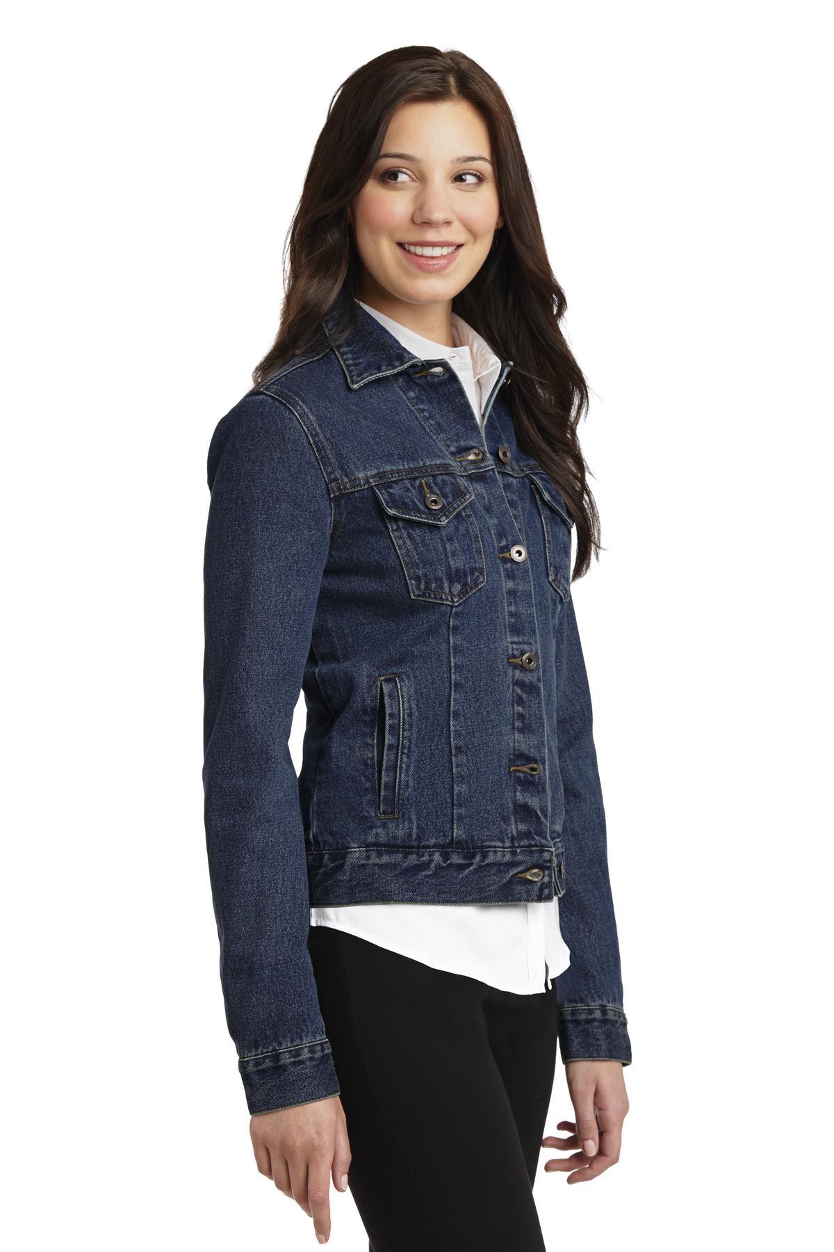 Ladies Denim Jacket - WCL3080