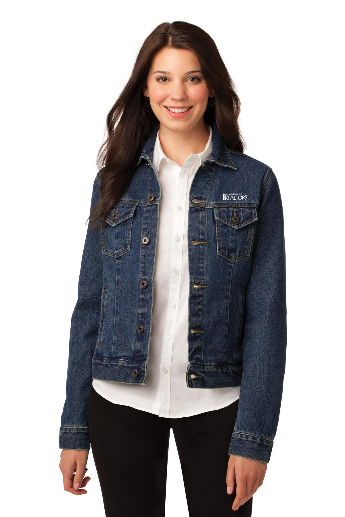 Ladies Denim Jacket #WCL3080 - WCR Team Store