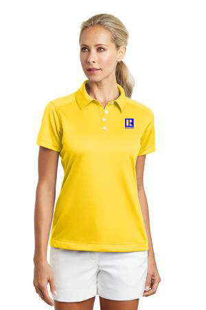 Ladies Nike Golf Dri-FIT Pebble Texture Polo