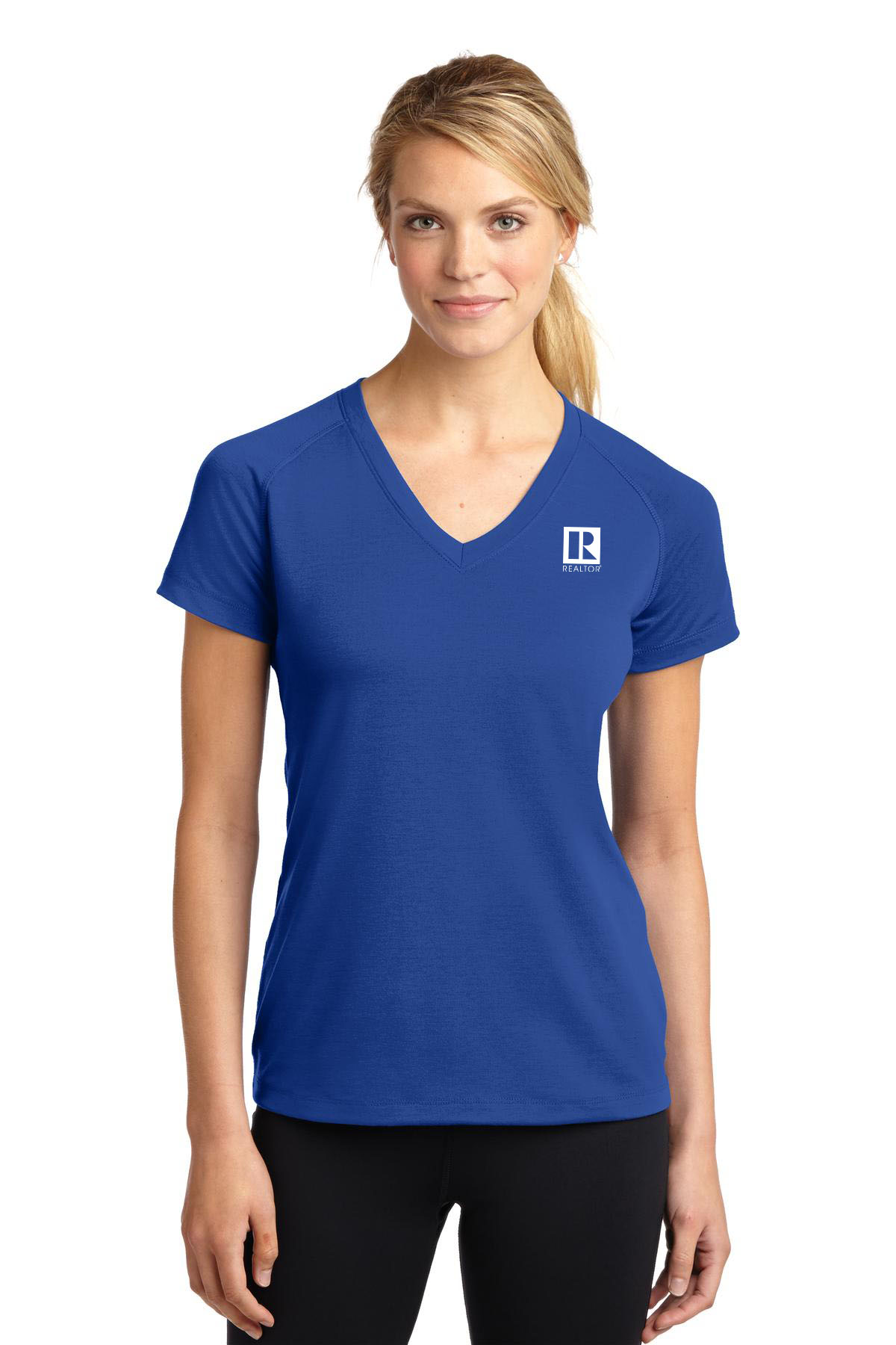 Ladies Performance V-Neck