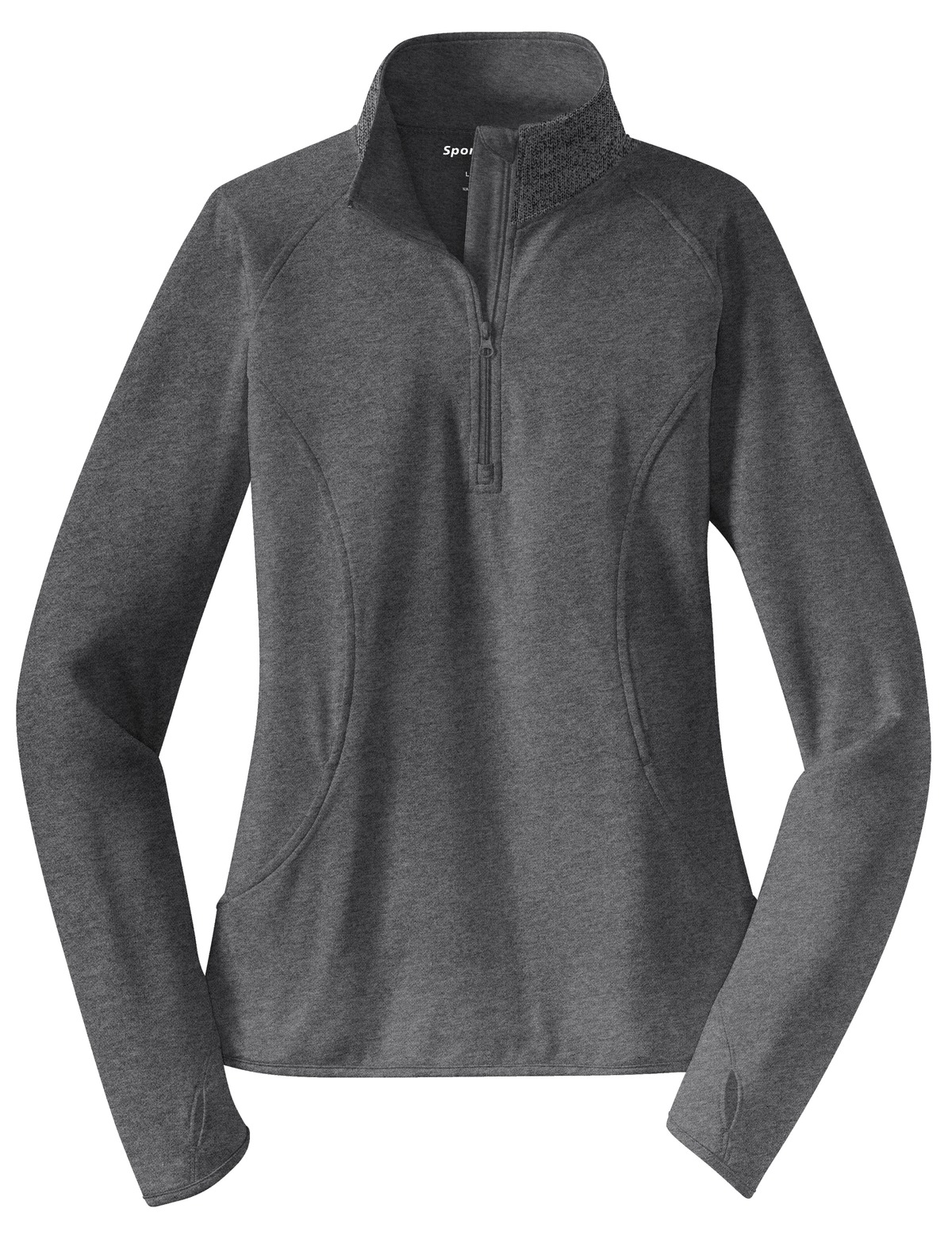 """That's Who We R"" Ladies Sport Stretch 1/2 Zip Pullover - TCL2340"