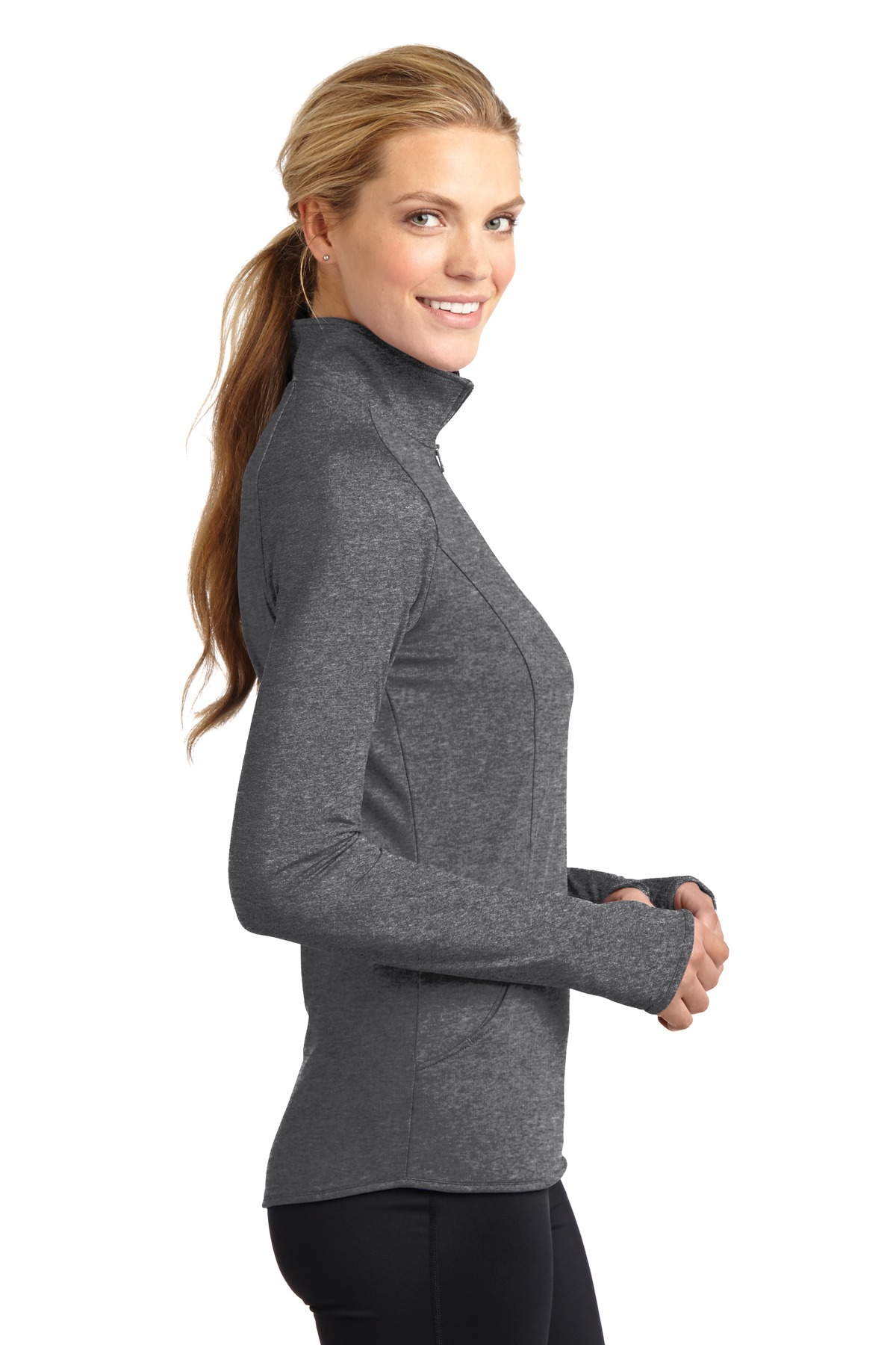 Ladies Sport Stretch 1/2 Zip Pullover RPAC - RCL2340-RPAC