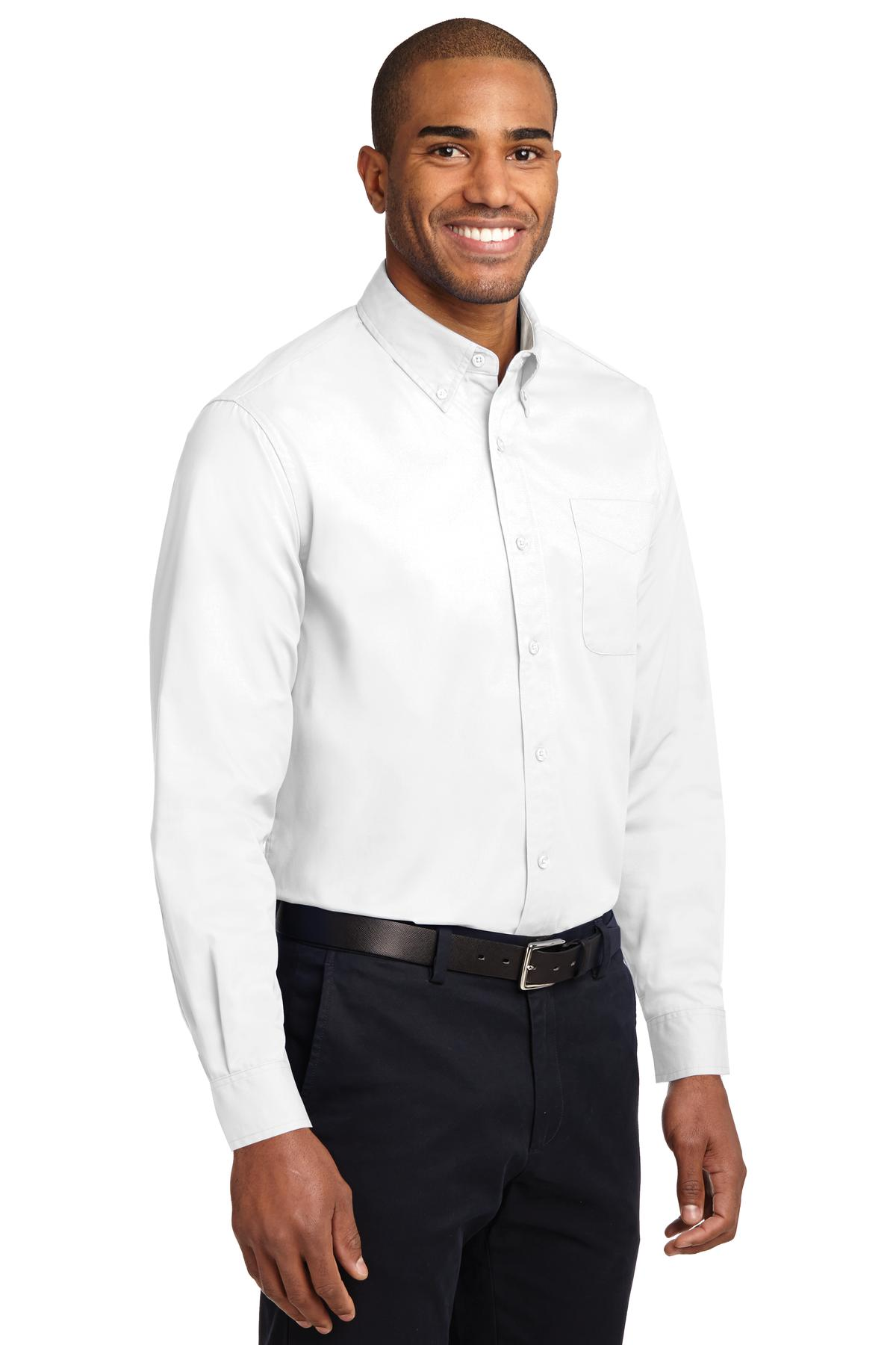 Men's Easy Care Long Sleeve Twill Shirt - WCG1101