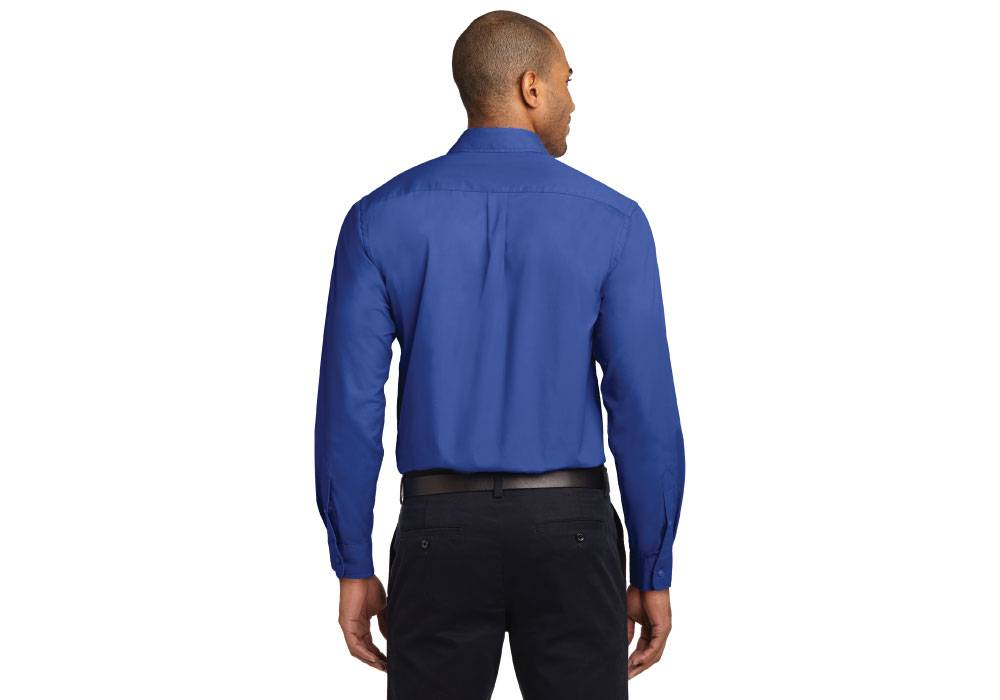 Mens Easy Care Long Sleeve Twill Shirt - RCG1101