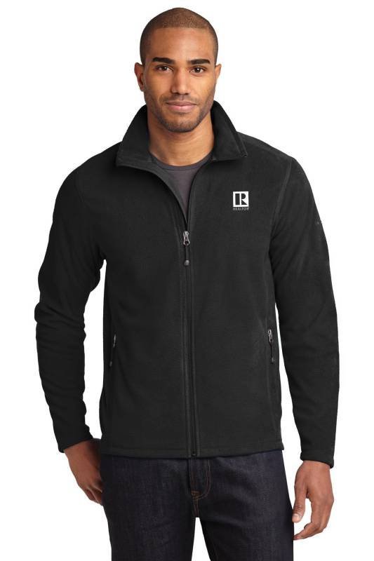Mens Eddie Bauer Full-Zip Microfleece Jacket