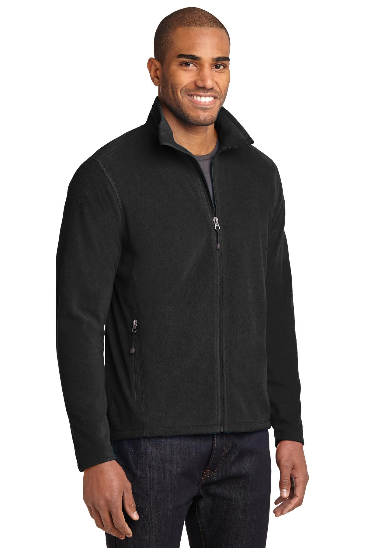 Mens Eddie Bauer Full-Zip Microfleece Jacket - RCG2382