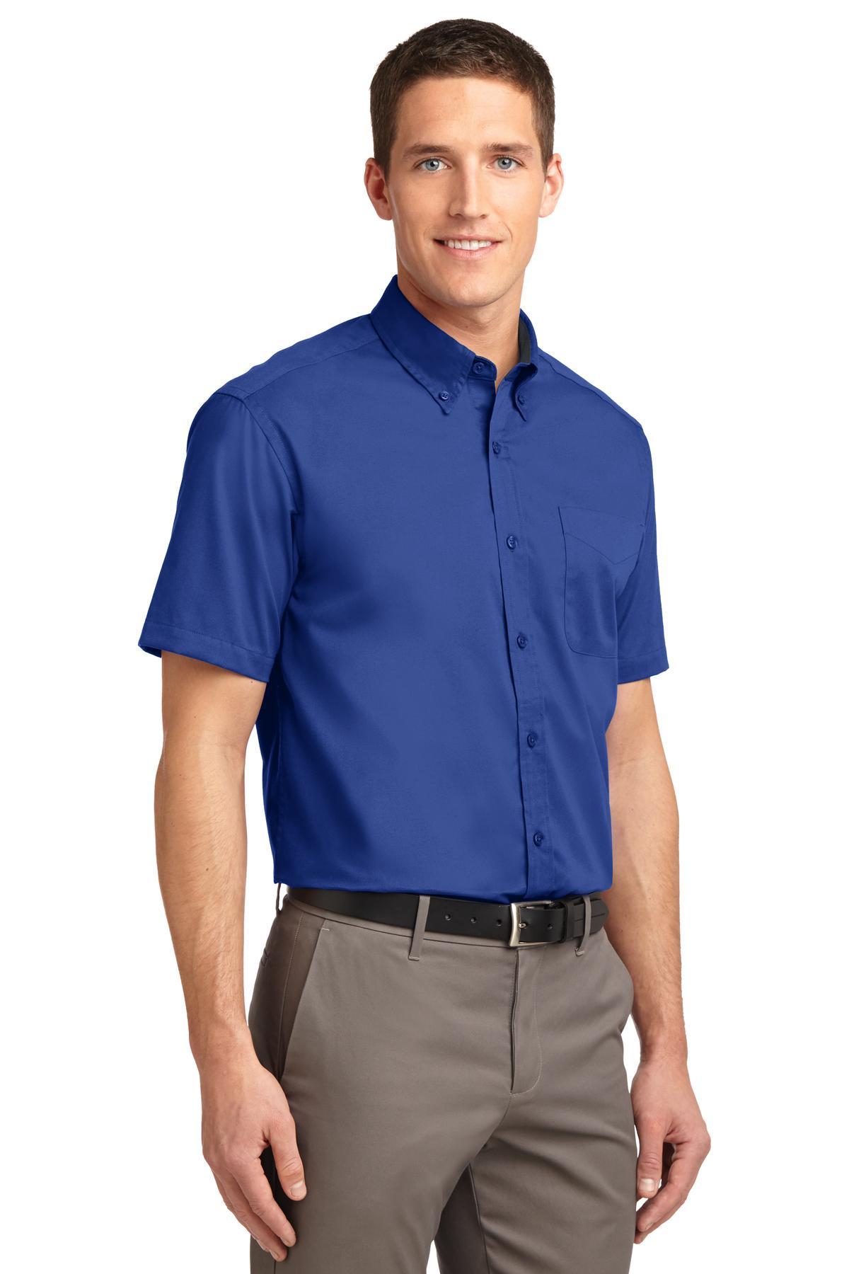 Mens Short Sleeve Twill - RCG1102