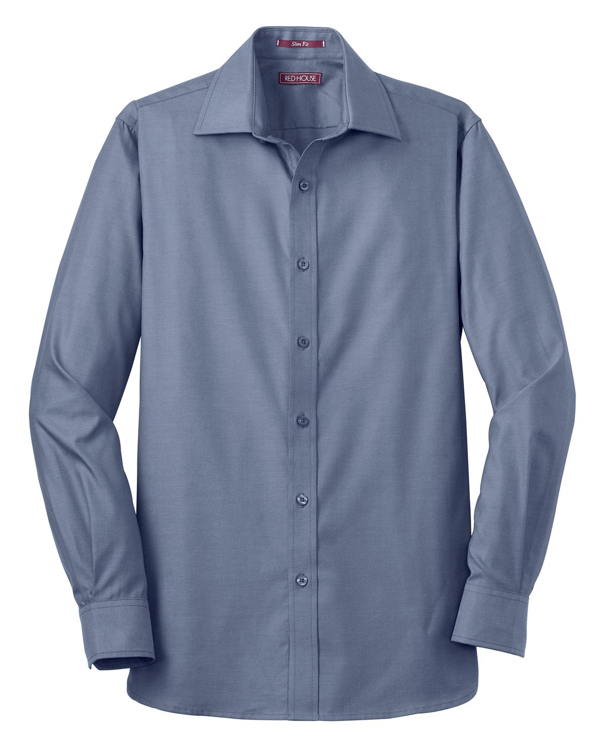 Mens Slim Fit Non-Iron Pinpoint Oxford - RCG1201
