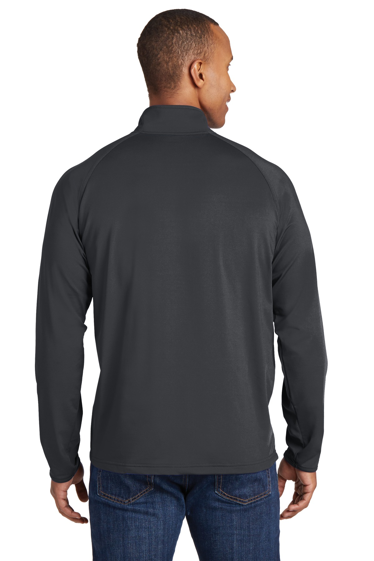 """That's Who We R"" Mens Sport Stretch 1/2 Zip Pullover - TCG1130"