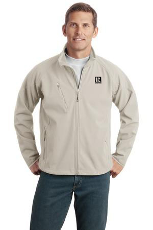 Mens Textured Soft Shell Jacket