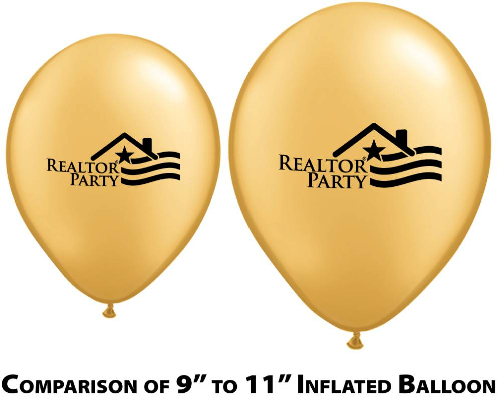 11 Inch Metallic Balloons - Special Order - RTS5113