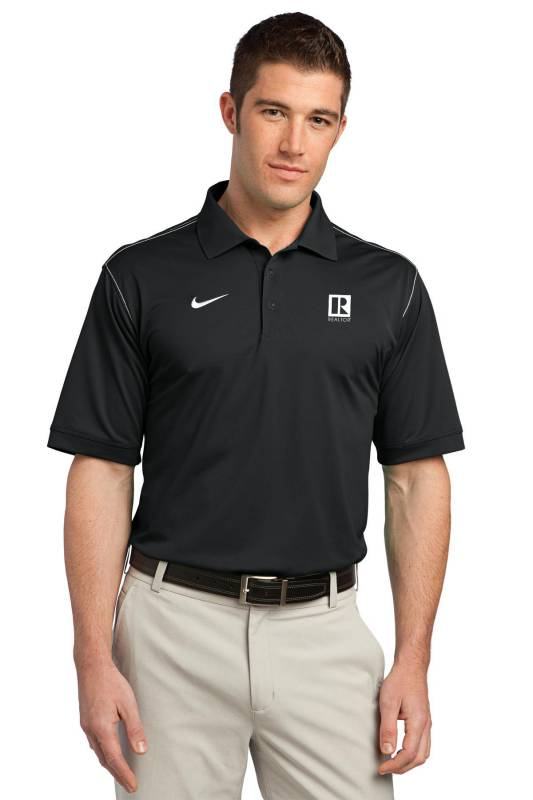 Nike Golf Dri-FIT Sport Swoosh Pique Polo Polo,