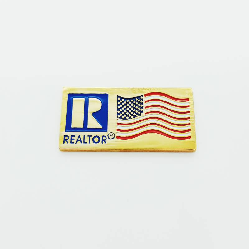 Patriotic Flag Pin - CLOSEOUT - RTS3008-Stick